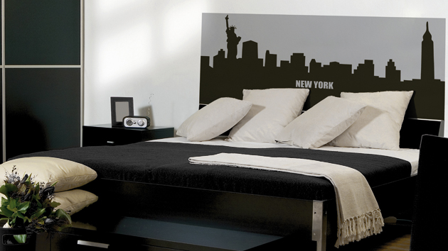stickers pour les chambres d adultes d co line. Black Bedroom Furniture Sets. Home Design Ideas